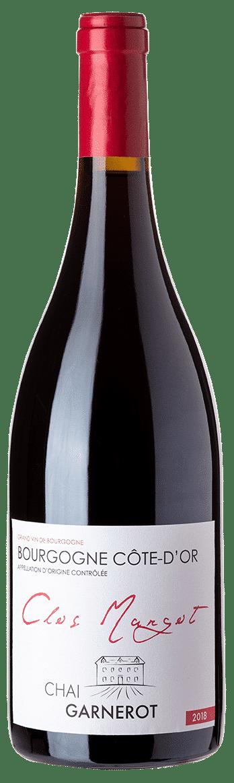 A la découverte de nos vins : Clos Margot - appellation Bourgogne - vin rouge - vinifié et élevé par Chai Garnerot