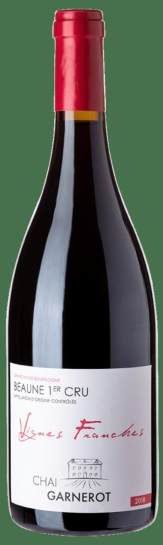 A la découverte de nos vins : Vignes Franches - appellation Beaune 1er Cru - vin rouge - vinifié et élevé par Chai Garnerot
