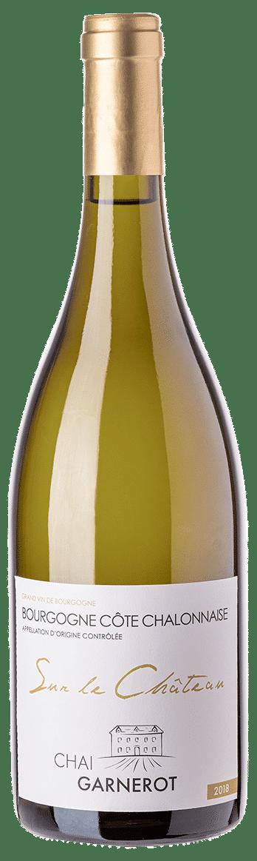 A la découverte de nos vins : Sur le Château - Appellation Côte Chalonnaise - vin blanc - vinifié et élevé par Chai Garnerot