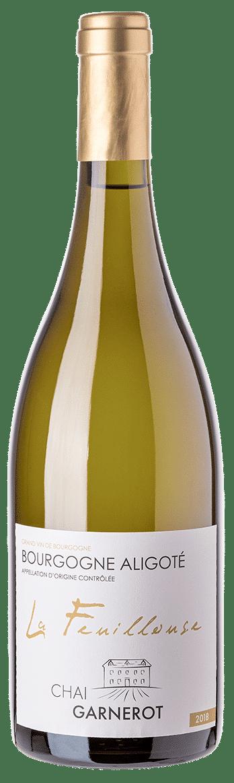 A la découverte de nos vins : La Feuillouse - appellation Bourgogne Aligoté - vin blanc - vinifié et élevé par Chai Garnerot