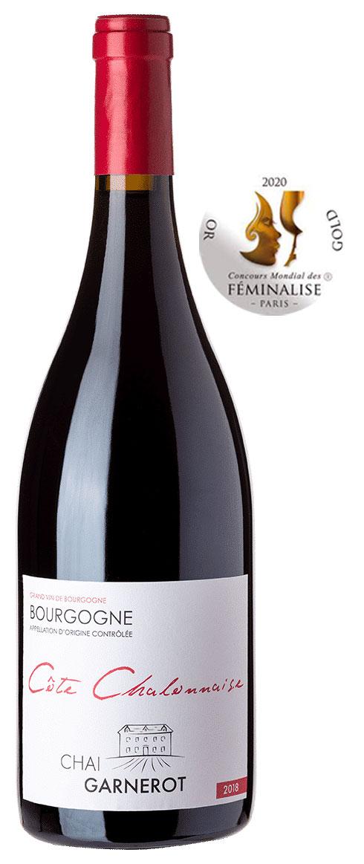 Bouteille Côte Chalonnaise - Bourgogne - rouge - Chai Garnerot