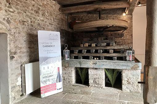 Château de Garnerot - Créateur d'événements sur mesure - La grande salle du pressoir